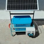 Projek Mekanikal-Portable Solar Washing Machine