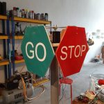 Bluetooth Controlled Signboard