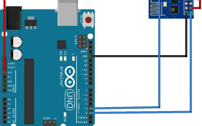 Arduino Lesson 6: Burning Firmware To ESP8266 Module Using Arduino UNO