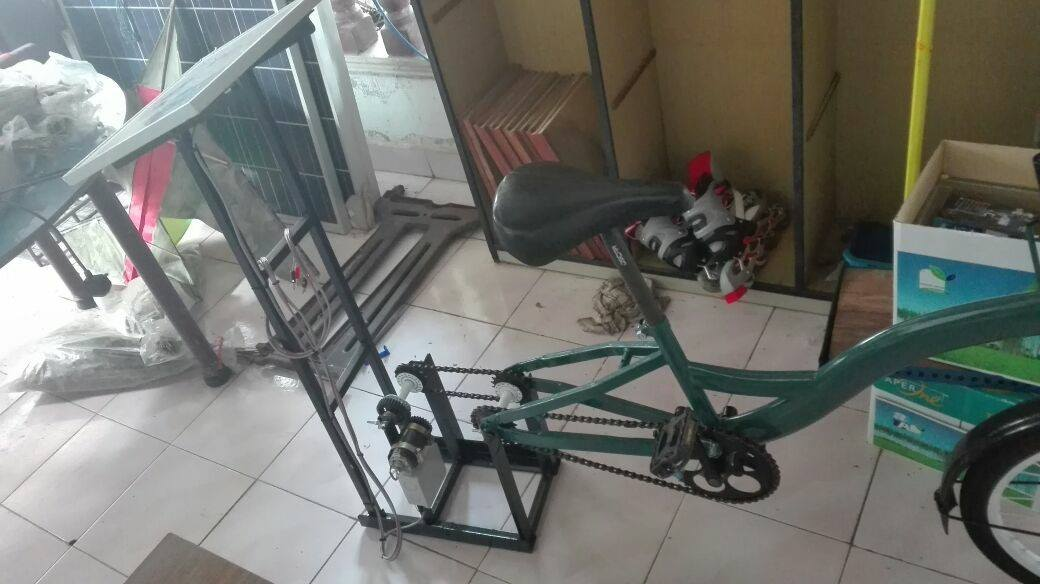 Bicycle Generator With Solar