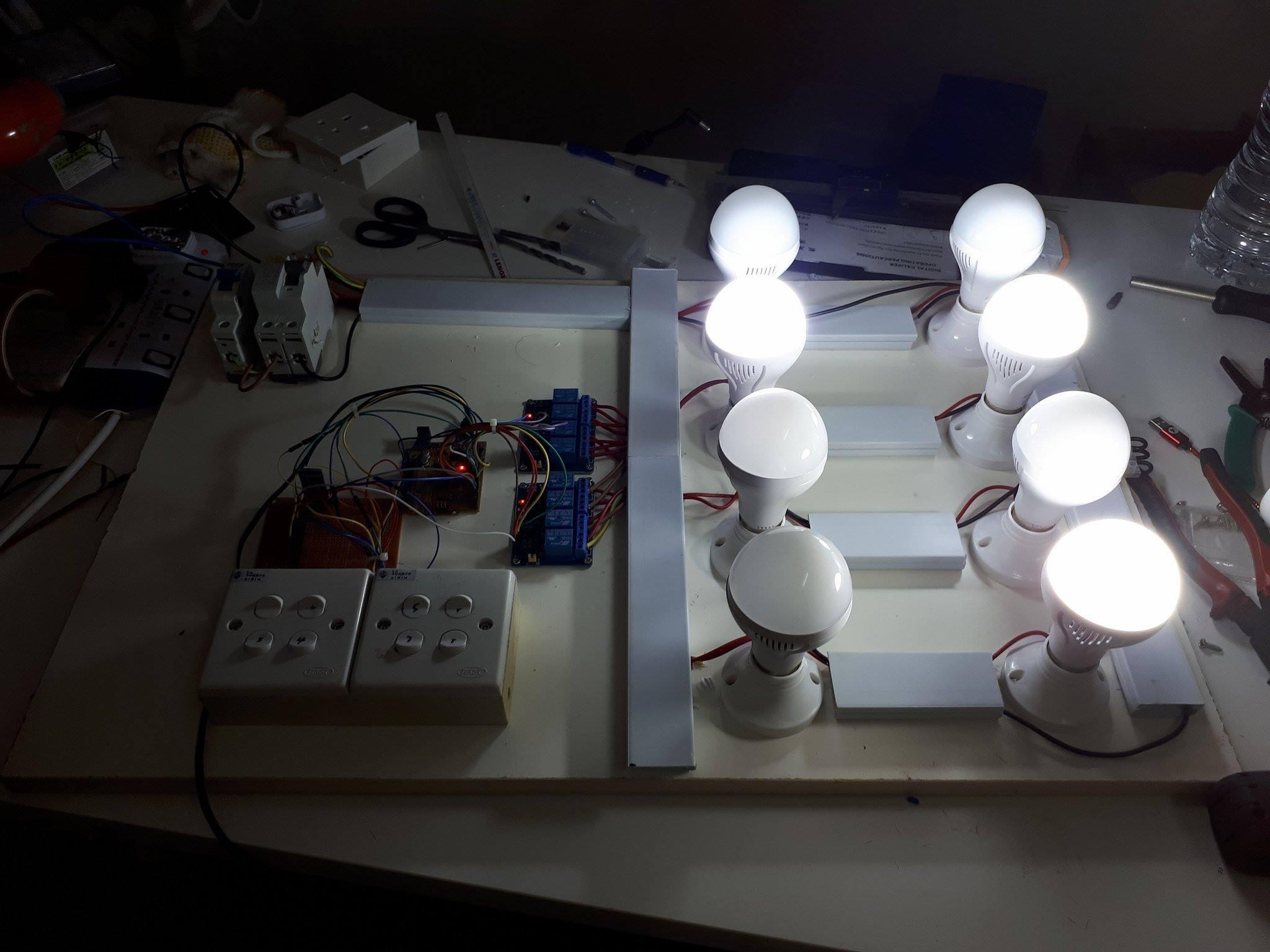 Projek Elektronik – Home Automation