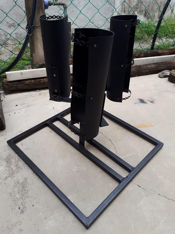 Projek Mekanikal-Savonious Blade Wind Turbine