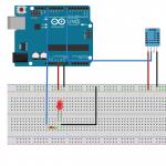Arduino Tutorial 4: DHT 11 Temperature and Humidity Sensor Tutorial