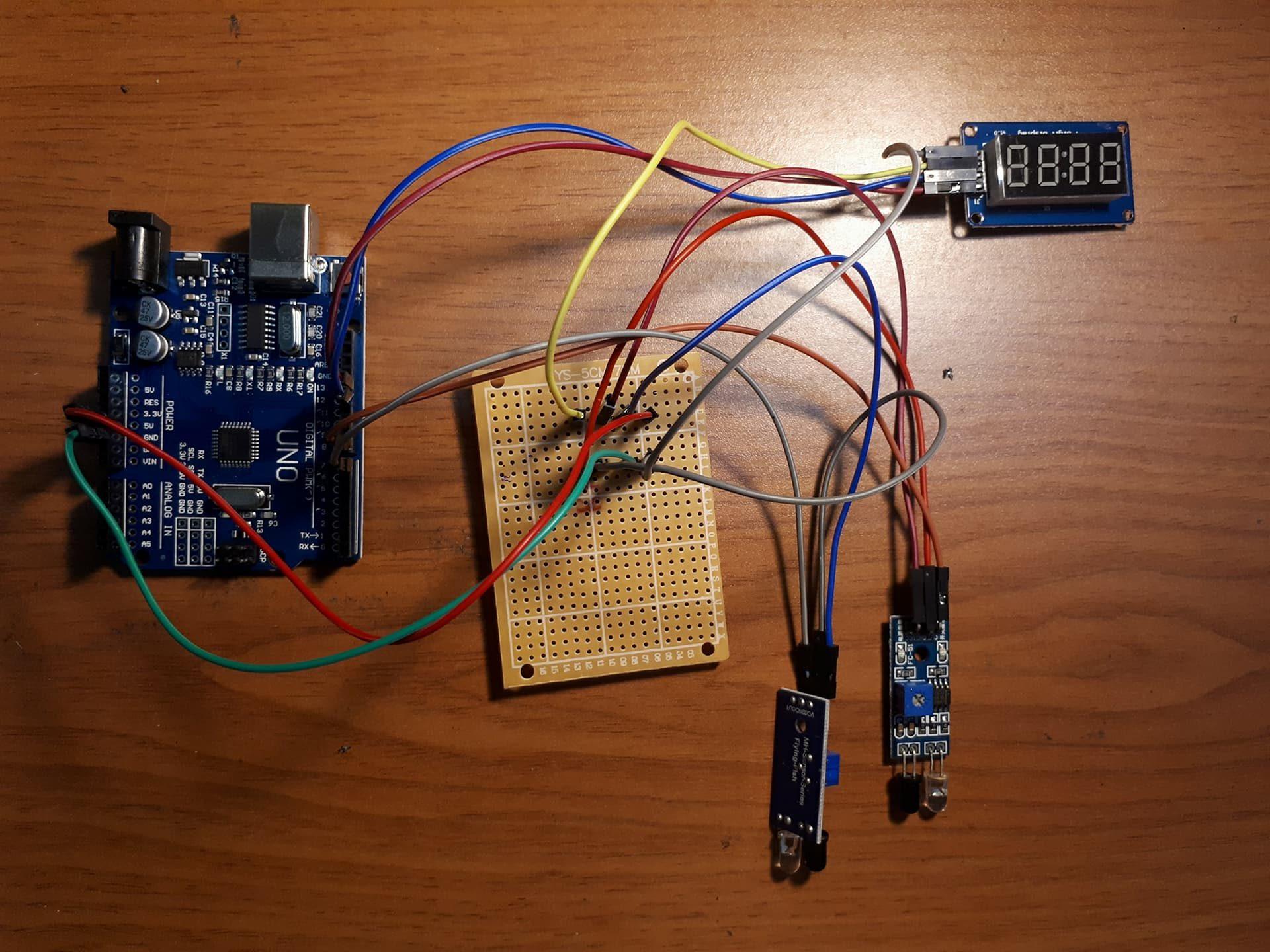 Projek Elektronik – Visitor Counter