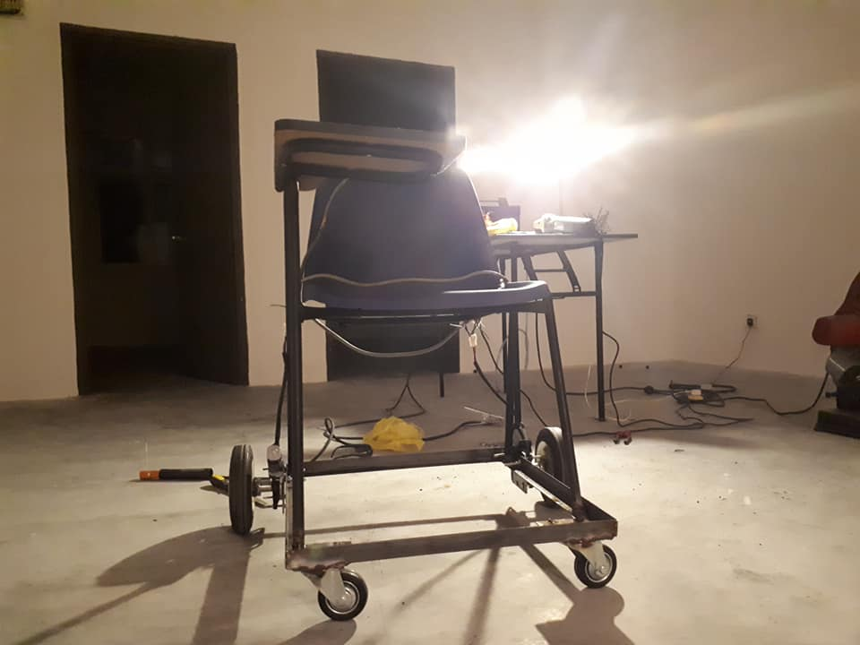 Voice Controlled Wheel Chair