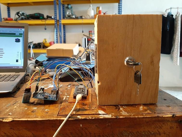 Smart Door Lock Access Database
