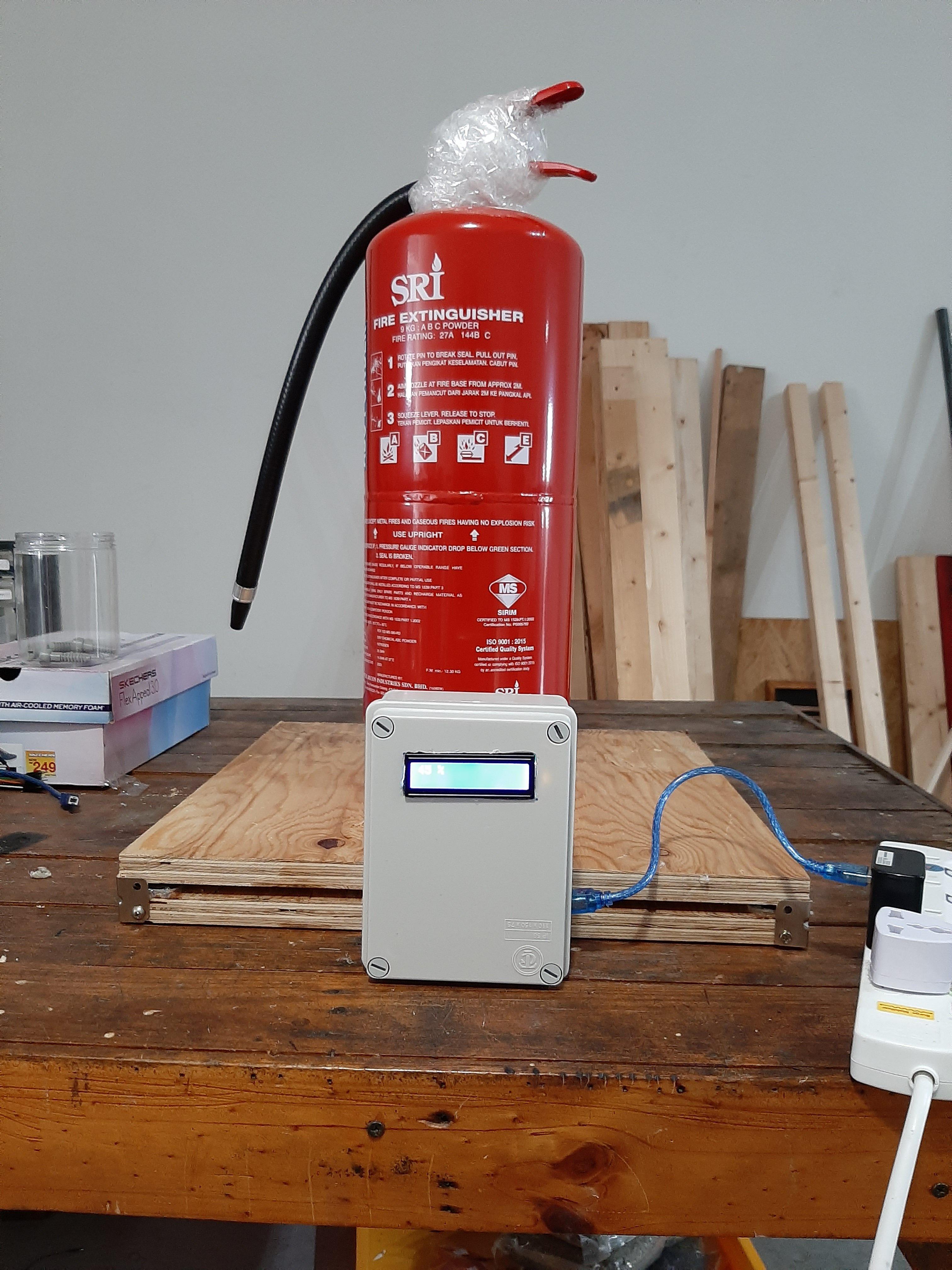 Gas Reading Meter