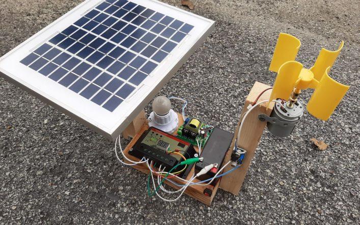 Hybrid Renewable Energy Prototype