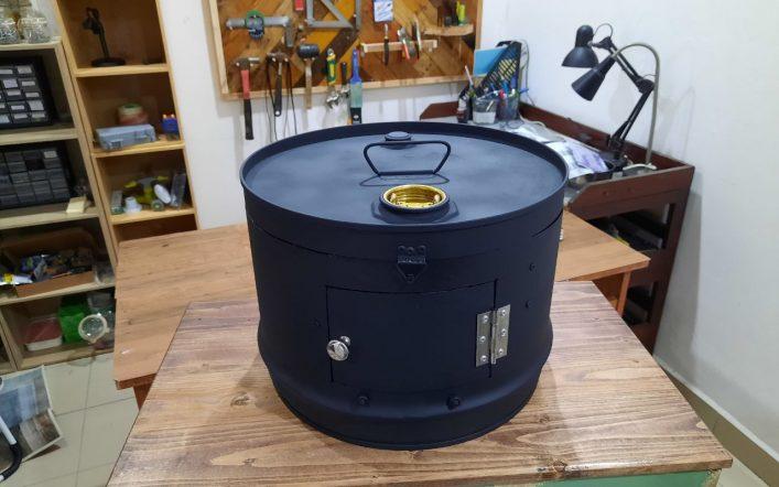 Custom BBQ Tong Drum Barrel